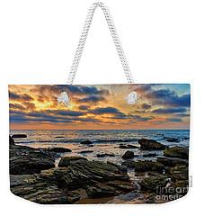Sunset At Crystal Cove Weekender Tote Bag