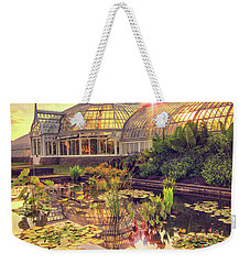 Sunset At Phipps Conservatory Weekender Tote Bag by Emmanuel Panagiotakis