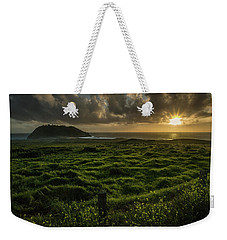 Sunset At Point Sur Weekender Tote Bag