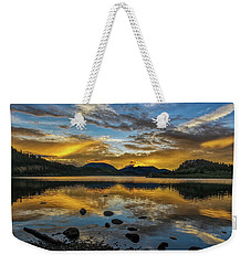 Sunset At Summit Cove Weekender Tote Bag