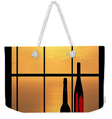 Weekender Tote Bag featuring the photograph Sunset In Hawaii by Athala Carole Bruckner