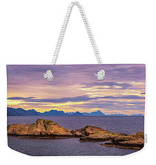 Sunset In The North Weekender Tote Bag