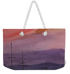 Sunset On Madeline Island Weekender Tote Bag