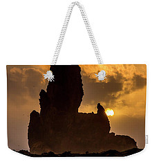 Sunset Over Cliffside Landscape Weekender Tote Bag