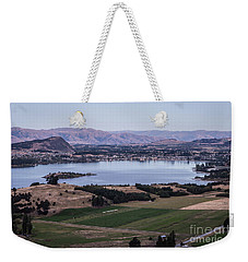 Sunset Over Lake Wanaka In New Zealand Weekender Tote Bag