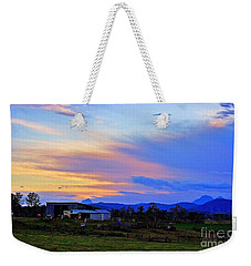 Sunset Over The Great Divide Weekender Tote Bag