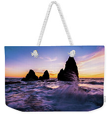 Sunset Splash Weekender Tote Bag