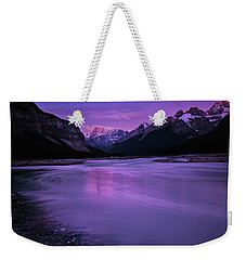 Sunwapta River Weekender Tote Bag