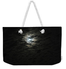 Weekender Tote Bag featuring the photograph super moon II by Irma BACKELANT GALLERIES