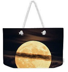 Supermoon Weekender Tote Bag by Michael Nowotny