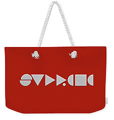 Supreme Being Embroidered Abstract - 2 Of 5 Weekender Tote Bag