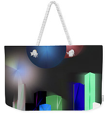 Surreal City Weekender Tote Bag by John Krakora