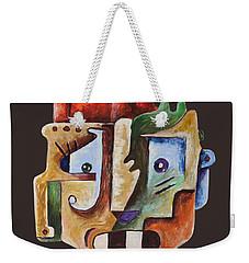 Surrealist Head Weekender Tote Bag