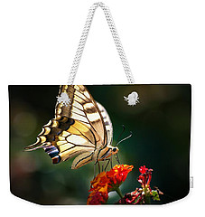 Swallowtail Weekender Tote Bag by Meir Ezrachi