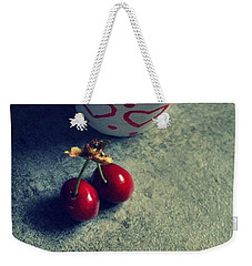 Sweet Couple Weekender Tote Bag by Marija Djedovic