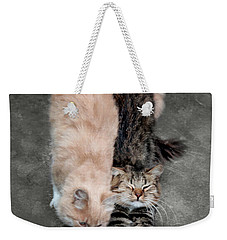 Sweet Couple Weekender Tote Bag by Sergey Lukashin