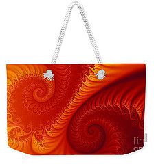 Swirls Two Weekender Tote Bag