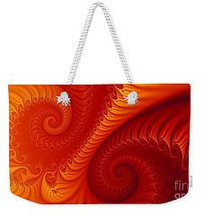 Swirls Two Weekender Tote Bag by Geraldine DeBoer