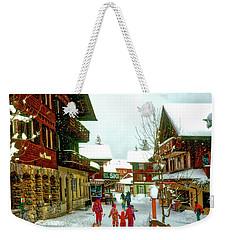 Switzerland Alps Weekender Tote Bag