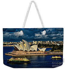 Sydney Opera House Australia Weekender Tote Bag by Diana Mary Sharpton
