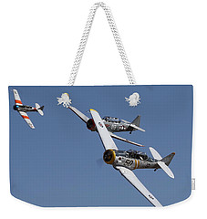 T6 Frenzy Over The Reno Desert Weekender Tote Bag