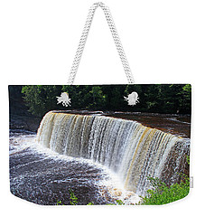 Tahquamenon Upper Falls IIi Weekender Tote Bag by Michiale Schneider