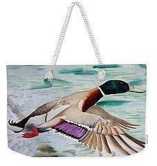 Takin Off Weekender Tote Bag by Jimmy Smith