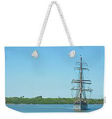 Tall Ship Elissa Weekender Tote Bag