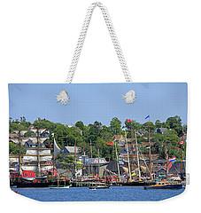 Tall Ships 2017 Lunenburg,  Nova Scotia Weekender Tote Bag