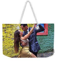 Weekender Tote Bag featuring the photograph Tango 02 by Bernardo Galmarini