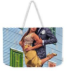 Weekender Tote Bag featuring the photograph Tango 03 by Bernardo Galmarini