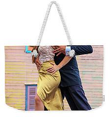 Weekender Tote Bag featuring the photograph Tango 05 by Bernardo Galmarini
