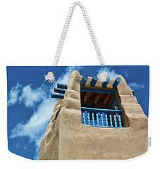 Taos Blue Weekender Tote Bag