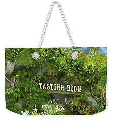 Tasting Room Sign Weekender Tote Bag