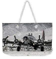 B-17 Bomber Madras Maiden  Weekender Tote Bag