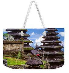 Temple City Weekender Tote Bag