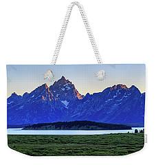 Teton Sunset Weekender Tote Bag