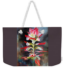 Texas Indian Paintbrush Weekender Tote Bag