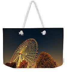 Texas Star Ferris Wheel Weekender Tote Bag by Douglas Barnard