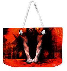 Textured Anger Weekender Tote Bag