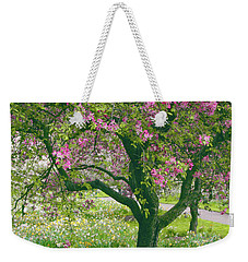 The Apple Doesn't Fall Far From The Tree Weekender Tote Bag by Jessica Jenney