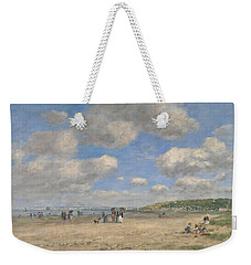 The Beach At Tourgeville Les Sablons Weekender Tote Bag