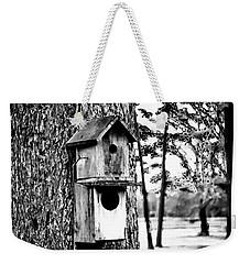 The Bird Feeder Weekender Tote Bag