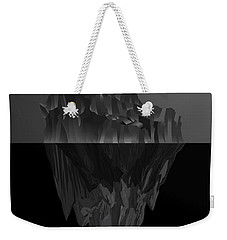 The Black Iceberg Weekender Tote Bag