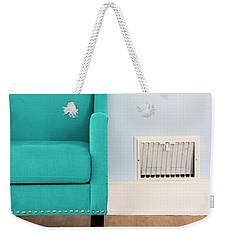 The Blue Chair Weekender Tote Bag
