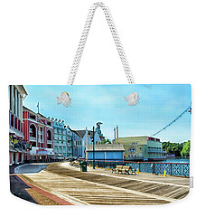 The Boardwalk Sidewalk Walt Disney World Mp Weekender Tote Bag