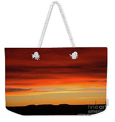 The Buttes At Sundown Weekender Tote Bag