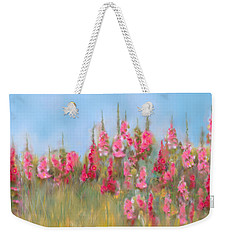 The Earth Laughs In Flowers Weekender Tote Bag