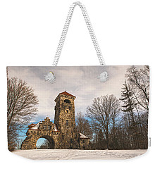 The Entrance Weekender Tote Bag by Angelo Marcialis