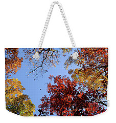 Weekender Tote Bag featuring the photograph The Fall by Glenn DiPaola